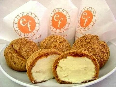 チーズケーキング エフのシュークリーム